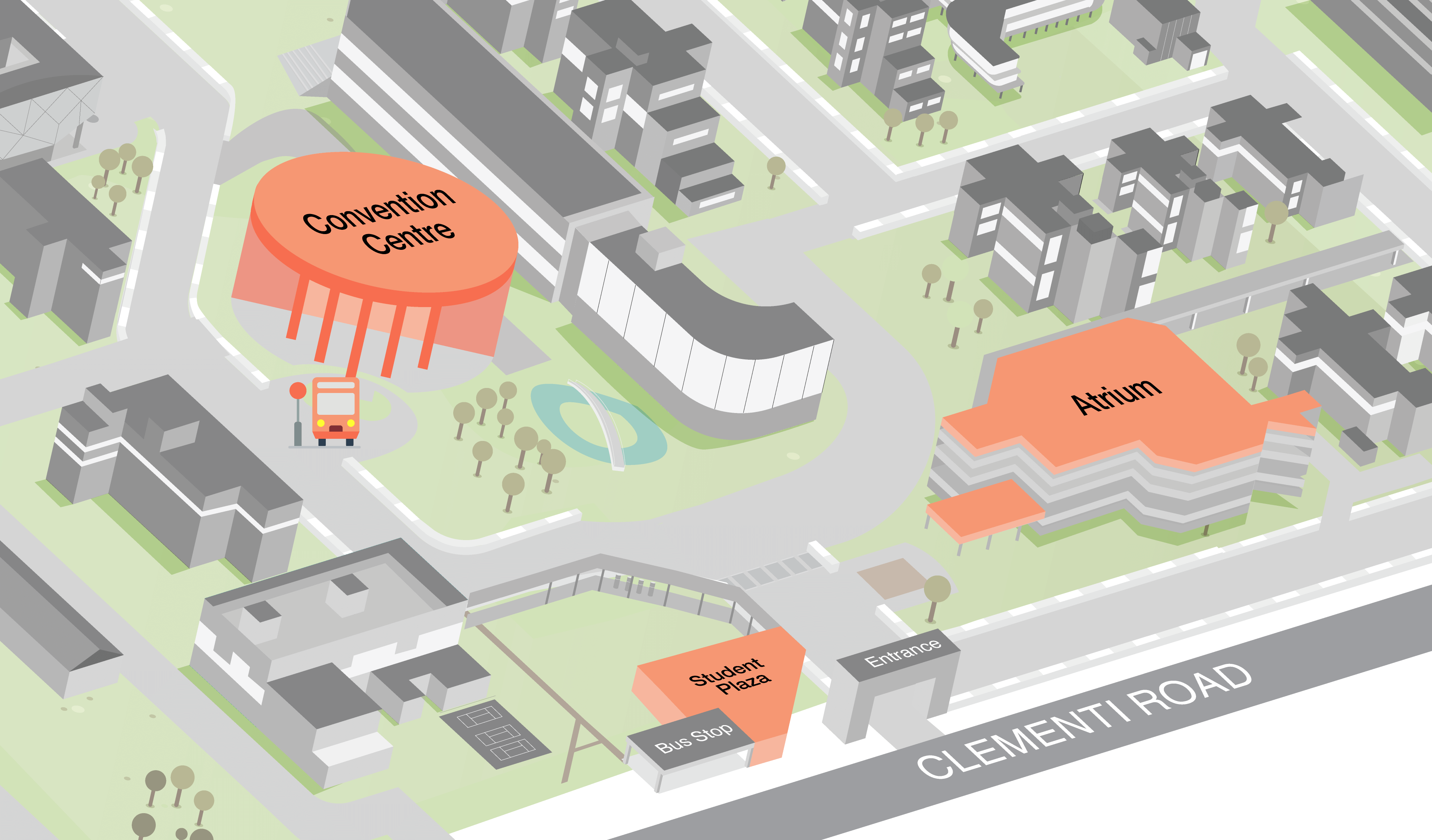 NP Campus Map